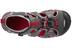 Keen Seacamp II CNX Sandals Kids Magnet/Racing Red